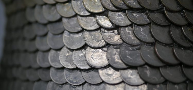 hundreds of coins