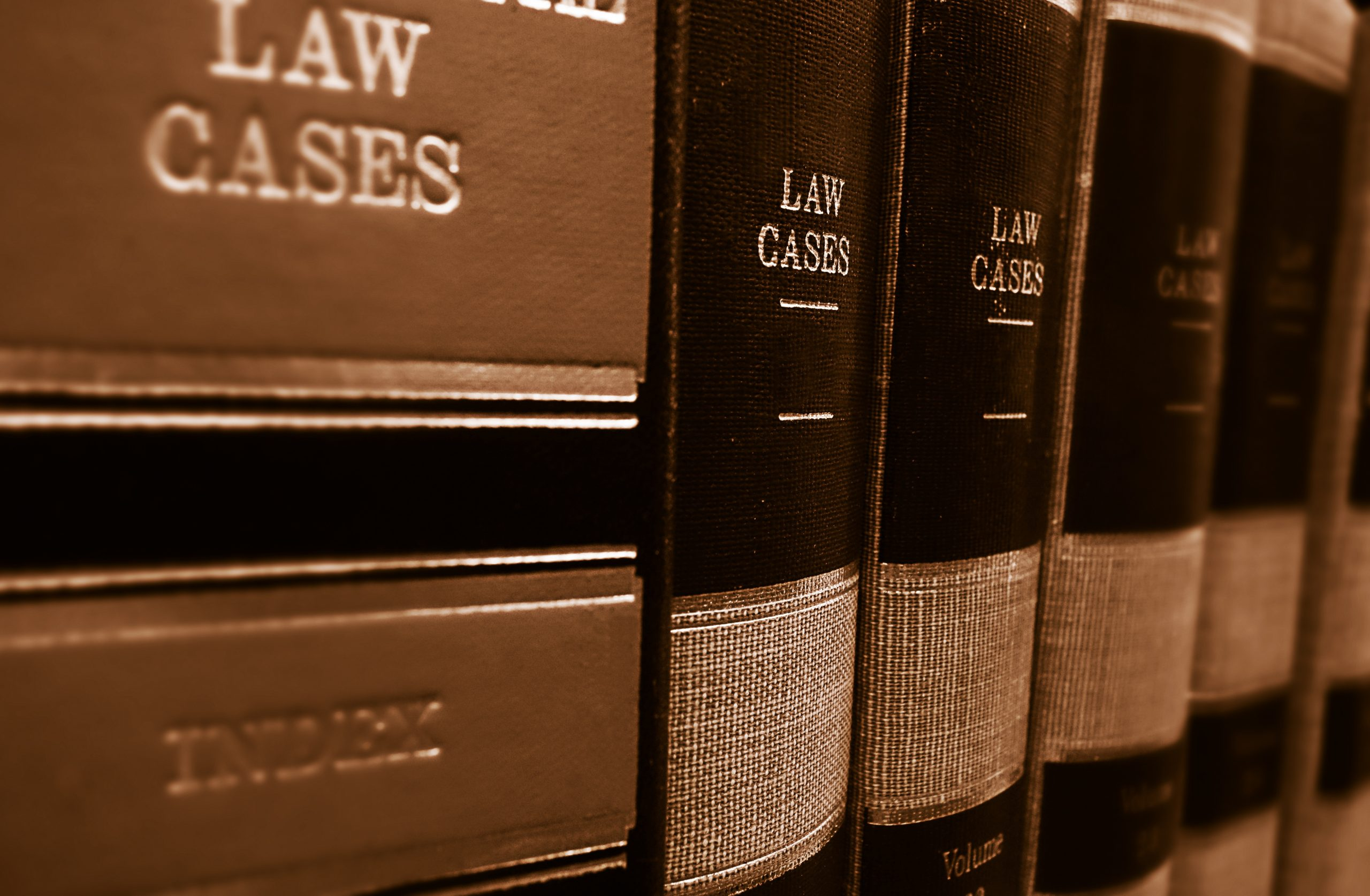 books of law cases
